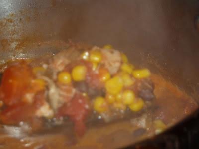 tex mex leftover turkey soup
