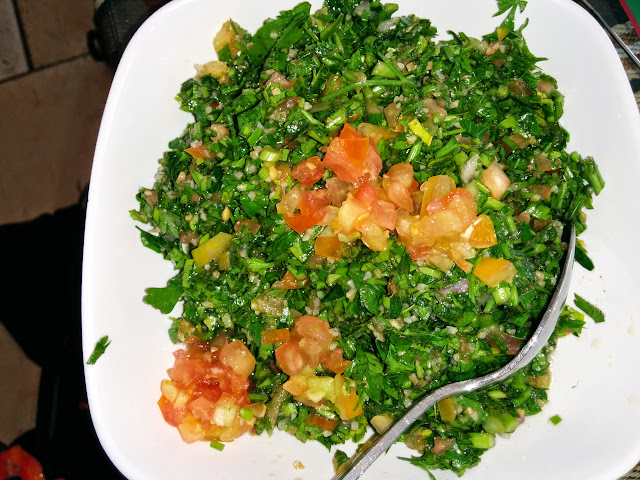 Tabouleh - middle eastern vegetarian food
