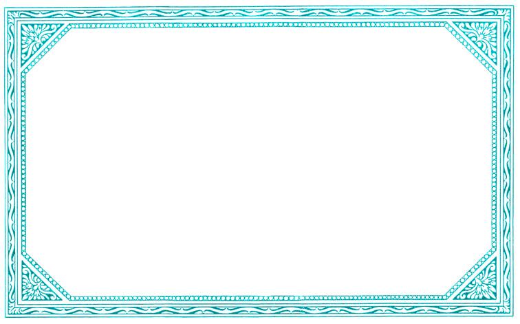 Plush Possum Studio: It\'s a Frame-up #2: Colorful Page Frames c. 1897