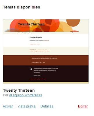 Tema Twenty Thirteen