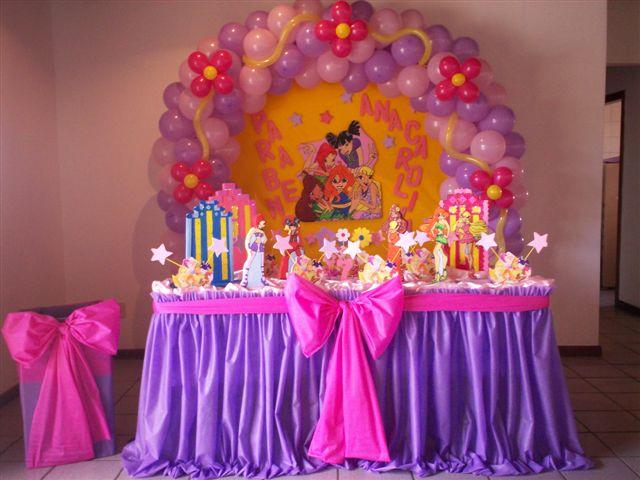 Decoração Winx ~ Blog das Winx minha festa winx e outras ideias de decoraç u00e3o