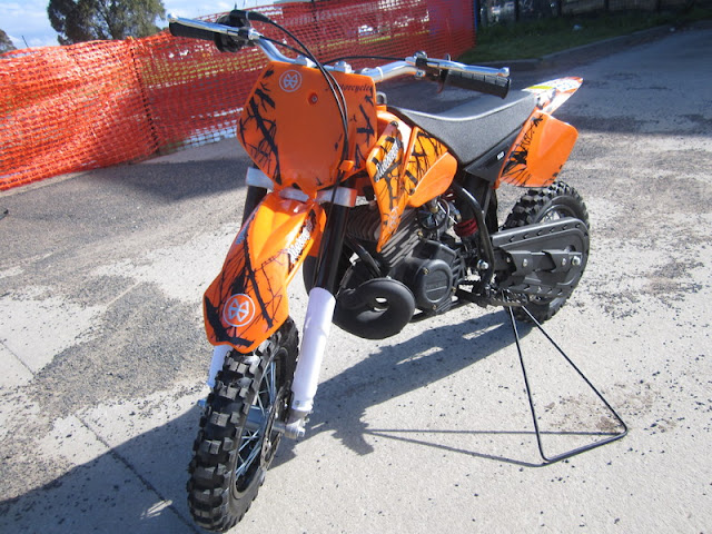 KTM Replica 2 Stroke 50cc Kids Mini Dirt Bike