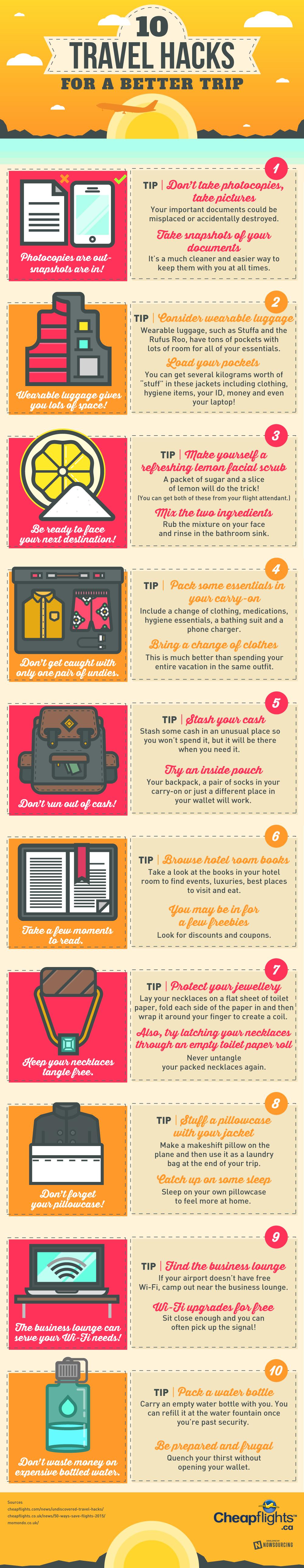 10 consejos para planear mejor tus viajes