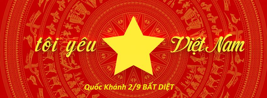 Facebook cover Quốc khánh 2015