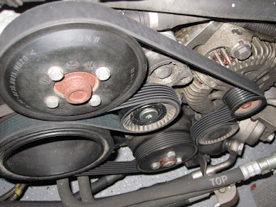 2005 545i alternator replacement diy pictures