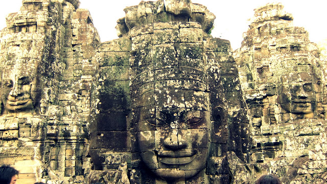 Bayon Temple at Angkor, Cambodia