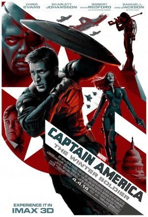 Filme Poster Capitão América 2 - O Soldado Invernal R6 XviD & RMVB Legendado