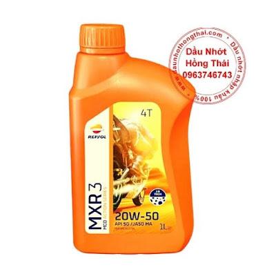 Repsol MXR 3 20W50 SG/MA