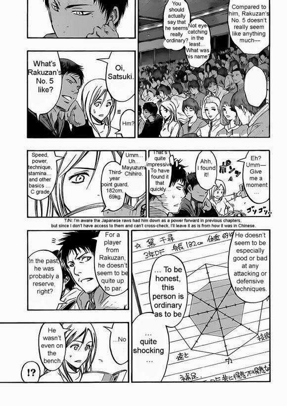 Kuroko no Basket Manga Chapter 238 - Image 13