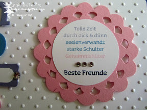stampin up stacks of wishes viel-schichtig