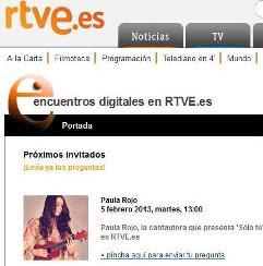 Encuentros digitales RTVE