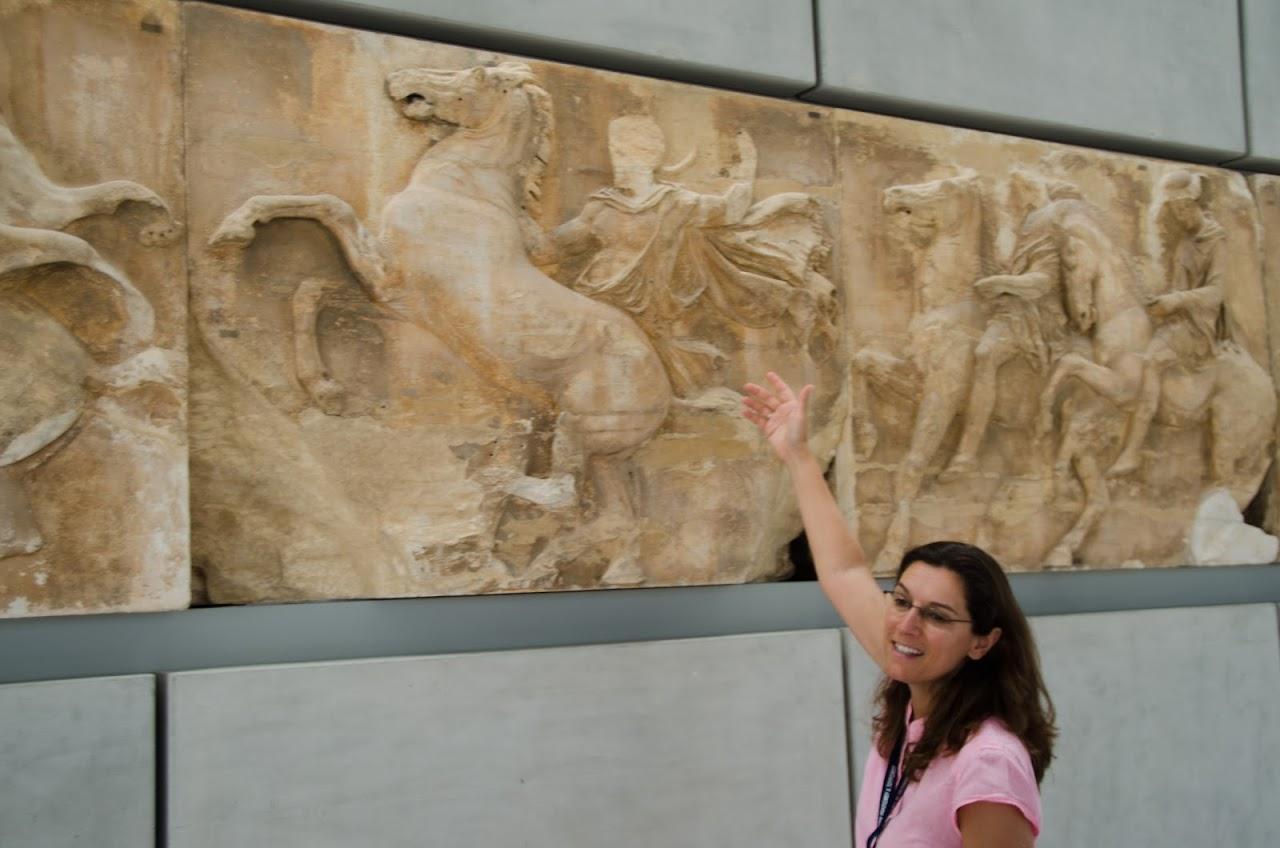Acropolis Museum friezes