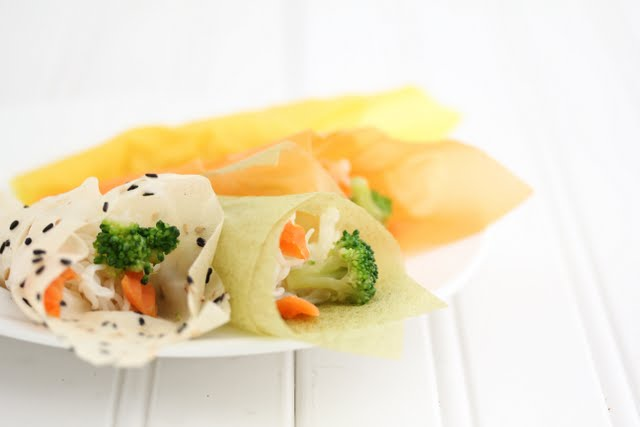 close-up photo of the hand rolls on a plate