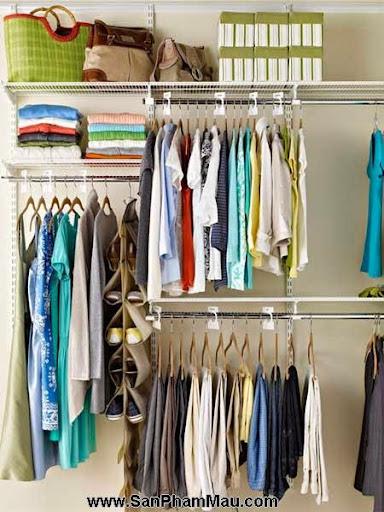Cách trang trí tủ quần áo để được chồng khen-2