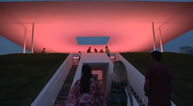 "James Turrell's ""Twilight Epiphany"" at Rice University"