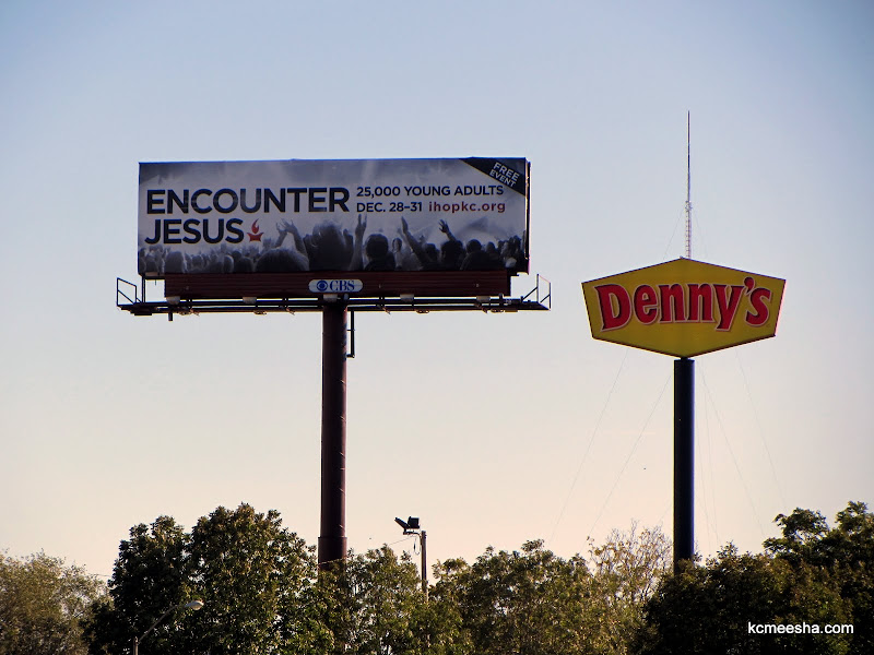Religious Billboards of Missouri: Downtown Kansas City