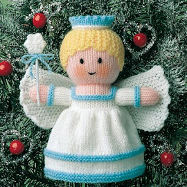 Provocare tricotat nr. 2 - Cadou de Mos Craciun Dolls7