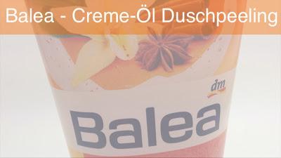 "Balea - Creme-Öl Duschpeeling ""Indian Chai"""