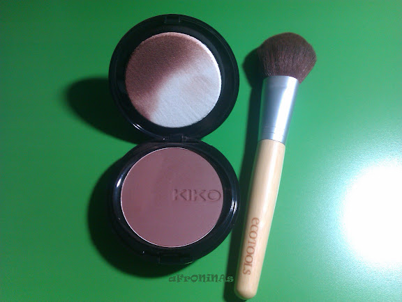 base maquillaje, polvos compactos, kiko, kiko make up, ecotools, brocha base maquillaje