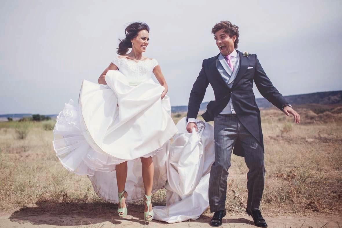 Fotos de boda en las afueras de Madrid.