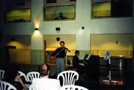 Концерт учащихся Титора 19.09.1998