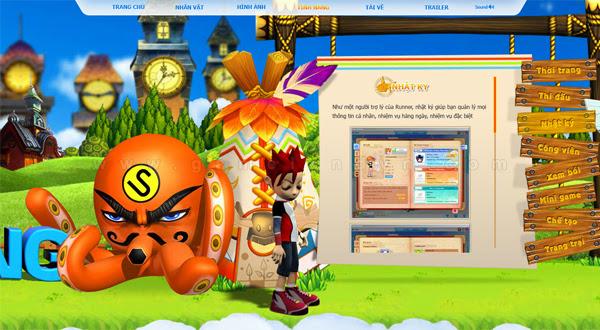 Trang giới thiệu GoGoRun đã chính thức trình làng 13