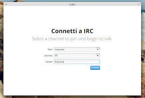Cable IRC Suite in elementary OS