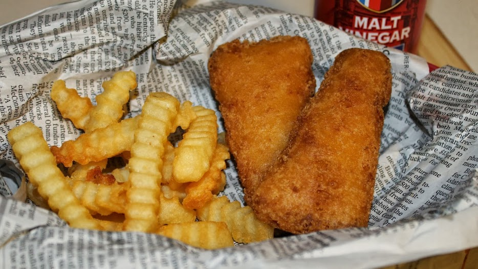Classic Fish and Chips with Gorton's Beer Battered Filets #WickedGoodSeafood