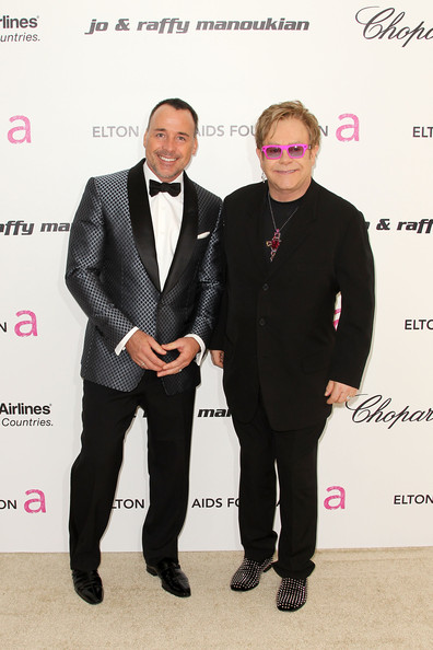 Celebs Do The 19th Annual Elton John AIDS Foundation's Oscar Viewing Party