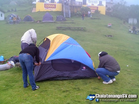 Lugares para acampar en Chalatenango