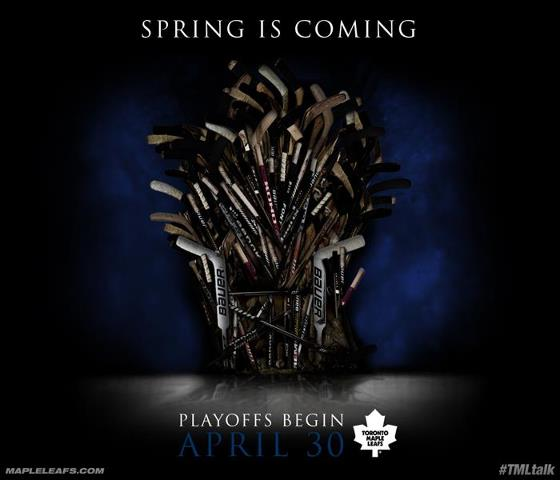 9 Toronto Maple Leafs Ads In Honour Of Making The Playoffs After Nine Years...Finally!