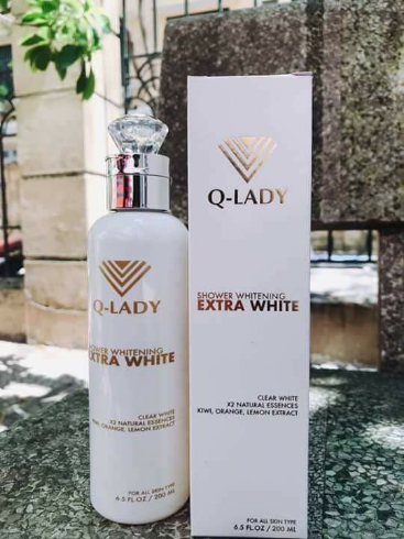 sữa tắm truyền trắngQ-lady ExtraWhite Shower