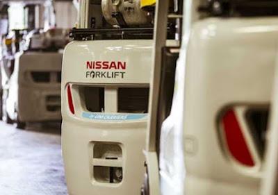 Đại lý xe nâng Nissan Nhật Bản