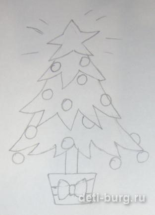 Новогодняя елка готова!