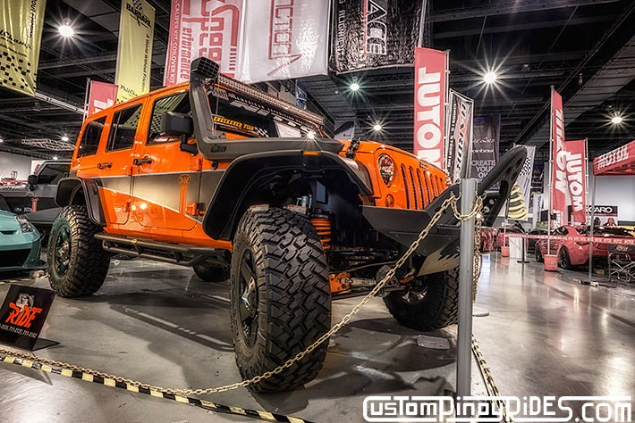 Some of the Best Modified 4x4s of 2013 Manila Auto Salon Custom Pinoy Rides Car Photography Philippines Philip Aragones Wrangler Rubicon2