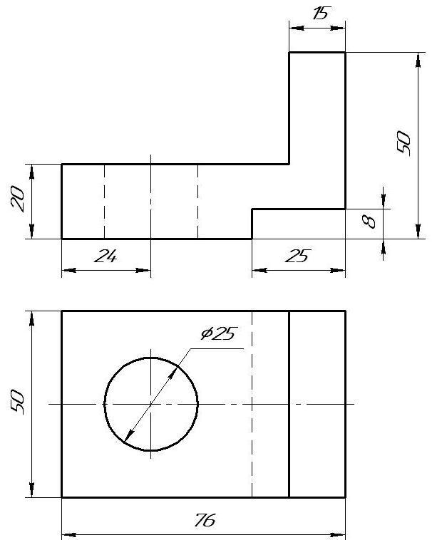 ИЗО и черчение: Построение третьего ...: zaharovvj.blogspot.ru/2011/03/8.html
