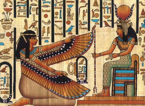 Goddess Isis Image