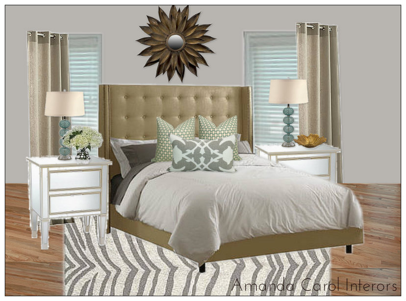 Master Bedroom E-Design