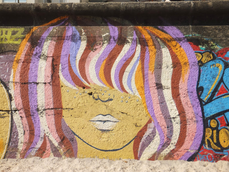 Street Art, Ipanema, Río de Janeiro, Brasil,  Elisa N, Blog de Viajes, Lifestyle, Travel