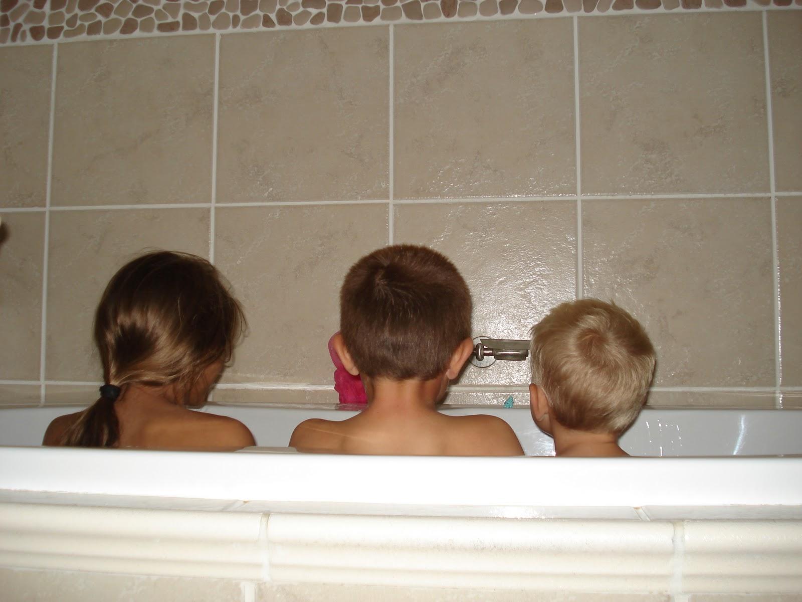 Candy{s} Land: Rub a Dub dub 3 kids in a tub
