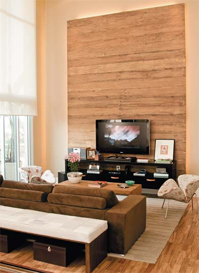 Home De Sala De Tv ~ Feito por Nós Revestimentos de Parede Salas de TV