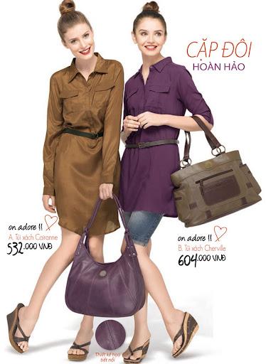 Túi xách nữ thời trang Sophie Cairanne - LTUT8