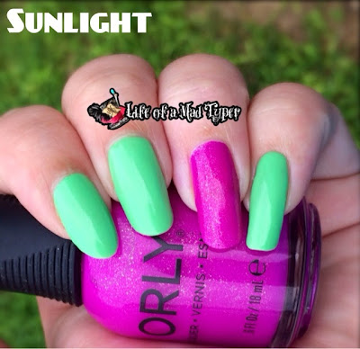OPI You Are So Outta Lime! Summer neons 2014