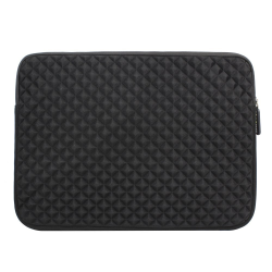 Evecase 11.6'' ~ 12.5'' Laptop/ Chromebook/ Ultrabook Notebook PC Diamond Foam Splash & Shock Resistant Neoprene Sleeve Case