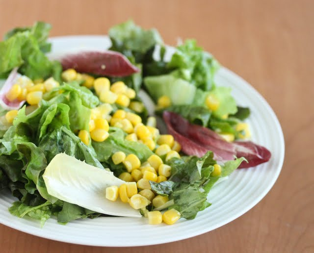 close-up photo of a salad
