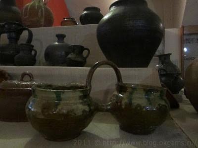 Необычная керамика из старейшего древнерусского музея