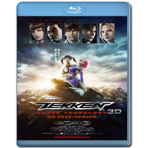 Tekken: Blood Vengeance - BRRip 720p - Ingles/Sub:Español