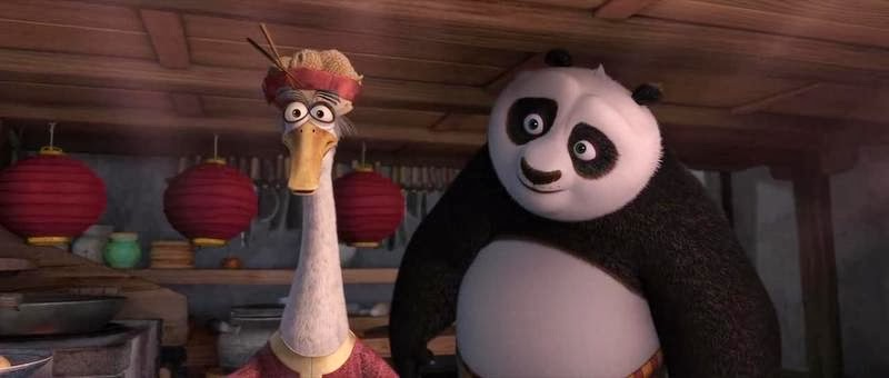 Screen Shot Of Hollywood Movie Kung Fu Panda 2 (2011) In Hindi English Full Movie Free Download And Watch Online at Alldownloads4u.Com