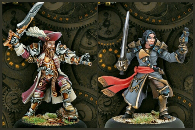 warcasters piratas de Warmachine