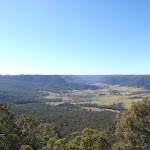 Watagan Creek valley to the north-east Flat Rock Lookout (59507)